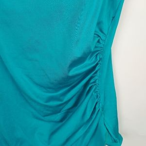 Swim - VTG one piece teal swimsuit size 12
